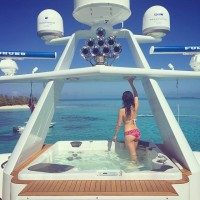 Boat with a view #bahamas ???? by dorothywang…